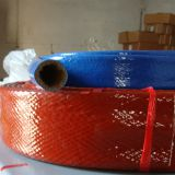 Silicone glass Fiber fire sleeve for hoses