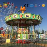 Hot sale cheap Chinese amusement park equipment, Verticle Rotary Flying Chair  Rides,