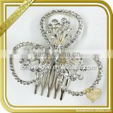 Elegant dresses rhinestone brooches bridal hair brooch pin for wedding FB-065