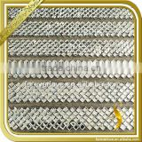 Silver bead trimming hot fix crystal shoe accessories shoe decoration rhinestone sheet FRM-203