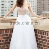 2015 Free Shipping Elegant Beading Ball Gown Sweetheart Floor Length Evening Dress
