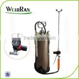 (93992) stainless steel tank sprayer with spray bar with gauge and control