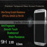 Prmium tempered glass screen protector, for samsung galaxy S4 tempered glass screen protector with factory price