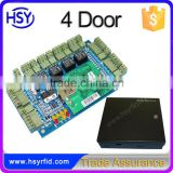 Shenzhen maker RJ45 and RS485 interface rfid systems network 4 doors access control smart board with High quality