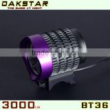 DAKSTAR New Promotion BT36 CREE XML T6 LED Rechargeable Aluminum High Power Bike Lights 3000 Lumens