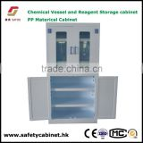Chemical Vessel and Reagent Storage Cabinet for lab hospital or pharmacy