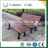 Latest designs and styles WPC composite outdoor bench
