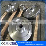 Crane motor trolley wheel power tool trolley wheel rail crane trolley wheel