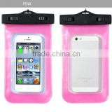 Customized Mobile Waterproof Phone Bag Case / PVC bag waterproof case for Samsung galaxy grand duos