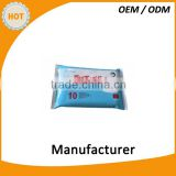 Disposable medical cleaning and disinfecting wet wipes/OEM