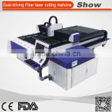 CNC laser wood cutter with Taiwan guide rail stainless steel laser cutting machine price