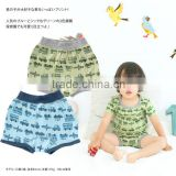 100% cotton underwear infant products high quality boxer pants baby inner wear set for boys wholesale cute car pattern