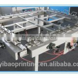 silk mesh screen printing stretching machine prices for screen fram