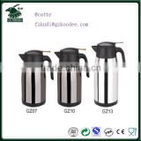 2015 latest new stainless steel electric thermo kettle
