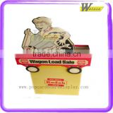 Cardboard dump bin display exhibition standee for Ad&Promotion