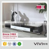 premium marble tv stand cabinet with showcase