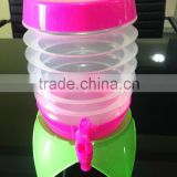 2014 new product 5.5L Foldable cocktail Barrel with dispenser