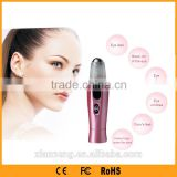 Remove Roll-on Ion Induction home beauty vibration eye massager machine for personal use