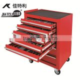 7-drawer roller cabinet with 185 pcs hand tools, good quality hand tools, DIN standards socket set