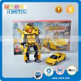 Crazy selling more function building block robot toy building brick for kids