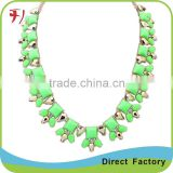 New design ZA brand Bohemia baroque style alloy necklace jewelry hot sale