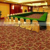 nylon printed meeting room wool carpet , high quality meeting room wool carpet