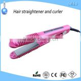 Fashion ceramic portable travel flat iron