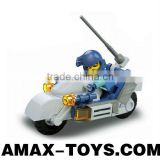 bd-7530329 children toys brick plastic educational toys brick special force motorcycle 32pcs