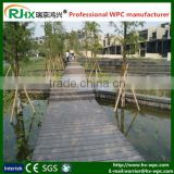 outdoor deck floor covering with eco-friendly for solid wood plastic composite decking floor