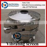 400mm diameter mini rotary vibration screen small vibration sieve shaker