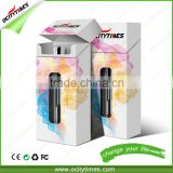 Ocitytimes C2/C2-F Glass cbd oil tank OEM/ODM package o pen vape 510 oil vaporizer cartridge