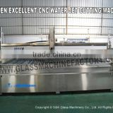 China New CNC Water Jet Cutting Machine Glass Waterjet
