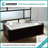 cUPC certificate plastic bathtub,small corner bathtub,bath tub price