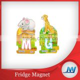 Free sample! New Design Promotional cheap personalized fridge magnets