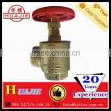 BRASS FIRE EXTINGUISHER VALVE