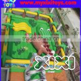 Outdoor kids inflatable playground,large inflatable fun city for children                                                                         Quality Choice