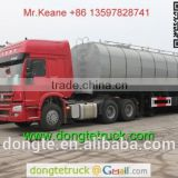 3 axles 40m3 insulated tanker trailer with pump exported to Philippines and Malaysia +86 13597828741