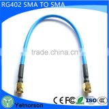 High quality sma male to TNC female rf coaxial connector cable RF assembly SMA male to male cable for RG402