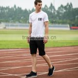 normal o -neck casual running wear t shirt for men one set