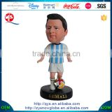 Messi Bobble Head Soccer Statue Figurine With Football Bobbleheads