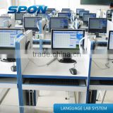 Spon University and college language learning lab sound system