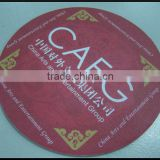 Cheep Custom Printing Beer Paper Coasters with fast delivery                                                                         Quality Choice