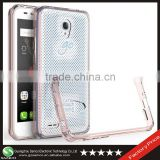 Samco New Arrival Clear Acrylic Material Shockproof Mobile Phone Shell Case Accessory for Alcatel One Touch Go Play