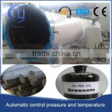 welcome in South Africa and ZAMBIA creosote vaccum heat wood treatment equipment                                                                         Quality Choice