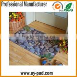 AY Anti-Slip Custom Garage Floor Mats Shower Room Pvc Floor Carpet Kitchen Rubber Floor Mat Rolls
