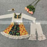 OEM Factory price fall wholesale girls outfits organic clothing baby clothes boutique turkey wholesale children clothes