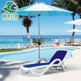 Best selling import plastic beach lounge chairs