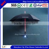 "Wholesale cheap China suppliers produced fiberglass ribs+acrylic stick 23"" 8ribs seven colors changing led light glow umbrella"
