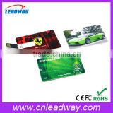 High definition printing credit card usb pen drive wholesale