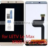 for LETV Le Max X900 LCD Display + Touch Screen Digitizer Assembly Replacement Parts - Golden